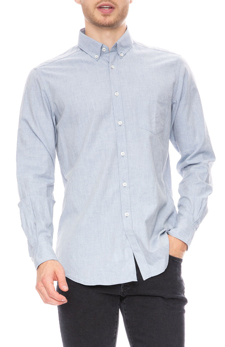 Exclusive Chambray Flannel Shirt