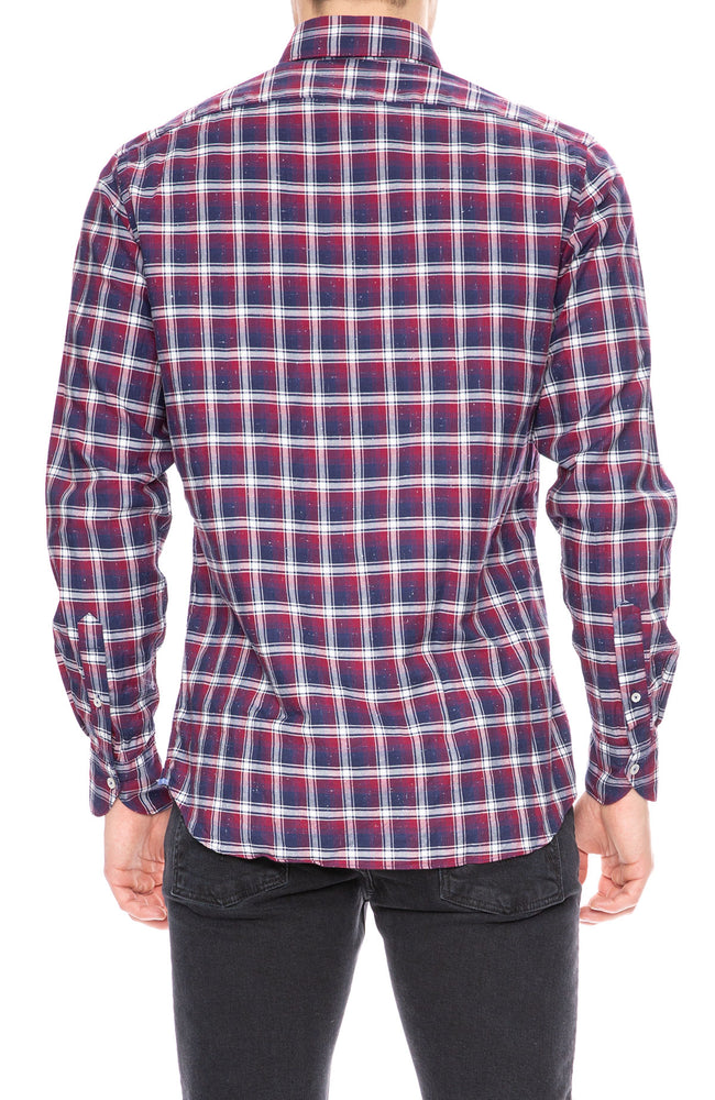 Today is Beautiful / Ron Herman Dark Red Exclusive Plaid Shirt