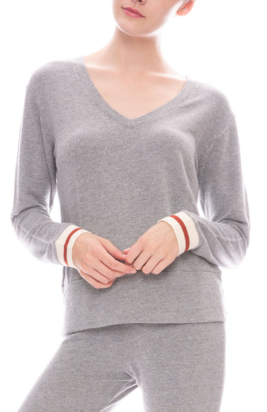Supersoft Elastic Cuff Sweatshirt