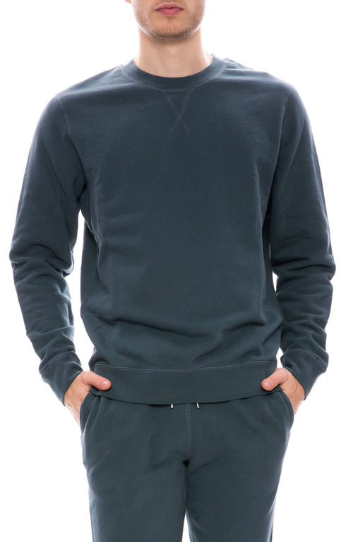 Sunspel Crew Neck Sweatshirt at Ron Herman