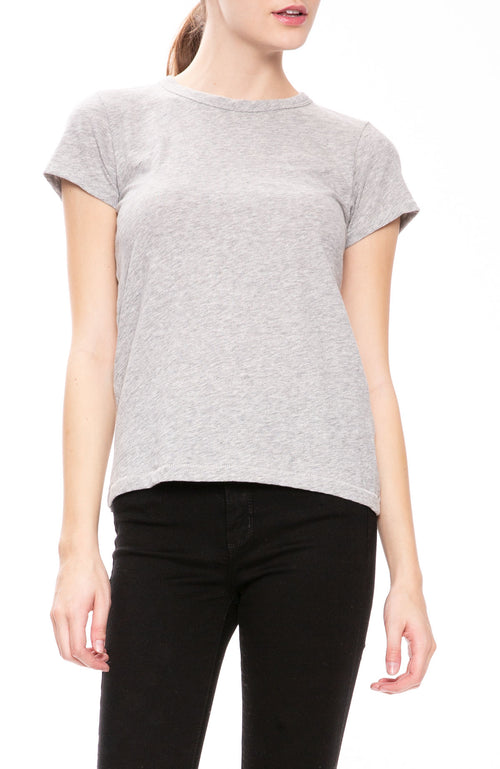 Rag & Bone Round Neck T-Shirt in Grey at Ron Herman