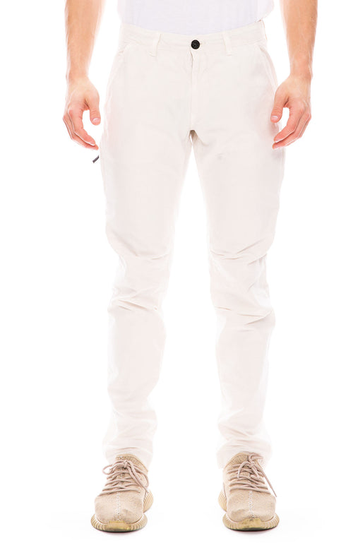 Brushed Cotton Canvas Cargo Pants