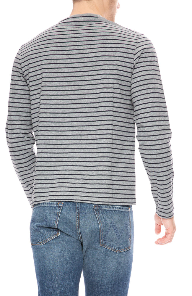 Frame Long Sleeve Striped T-Shirt at Ron Herman