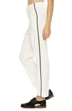Forte Forte Wool Dress Pants with Side Ribbon Tape in