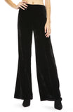 Forte Forte Velvet High Waist Pants in Nero