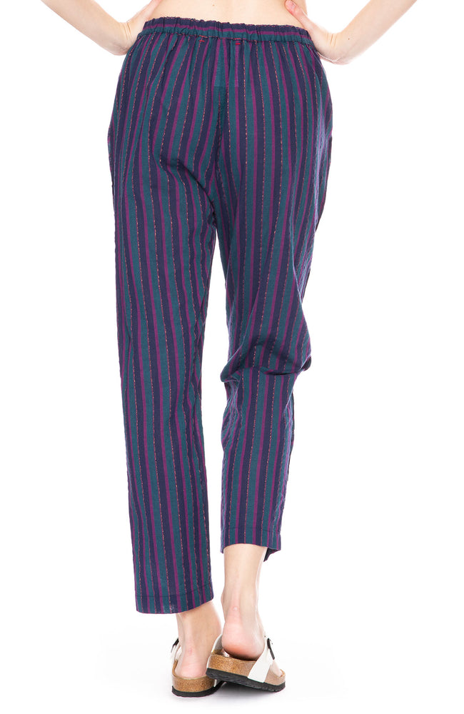 Xirena Kalyvn Stripe Pant in Indigo-Go at Ron Herman
