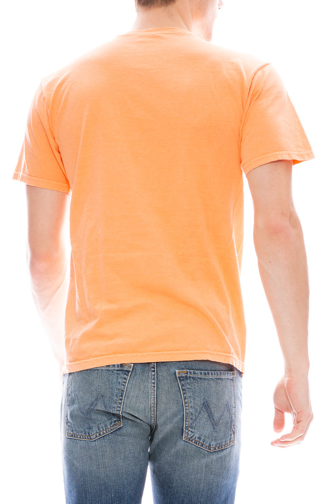 Stussy Mens 3 Star Short Sleeve T-Shirt in Coral