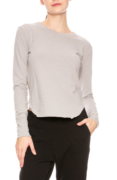 Tee Lab by Frank & Eileen Long Sleeve Vintage Tee in Dime at Ron Herman
