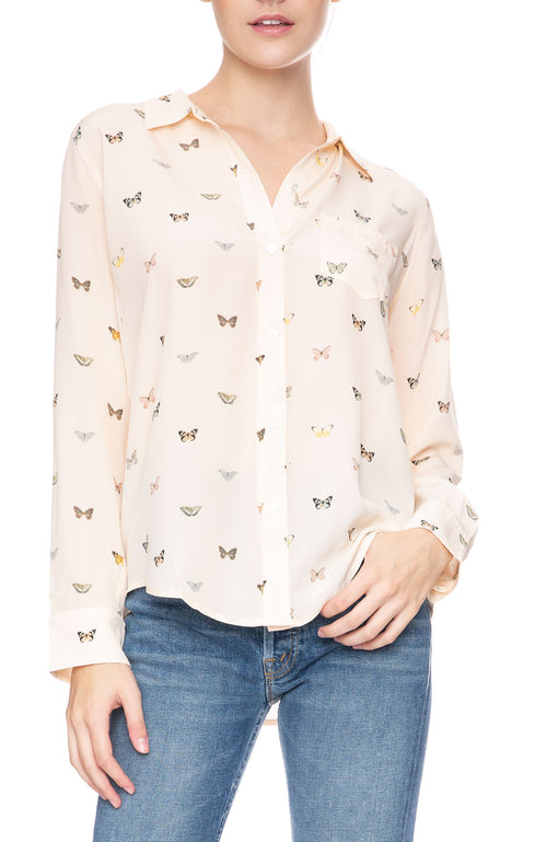 Rails Kate Silk Butterfly Shirt at Ron Herman