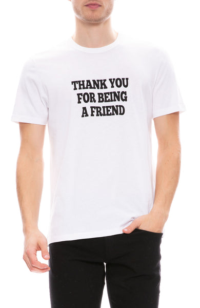 AMI Thank You For Being A Friend T-Shirt at Ron Herman