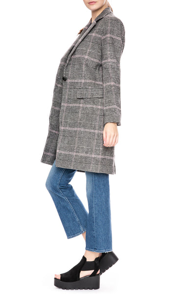 Rails Anders Plaid Coat at Ron Herman