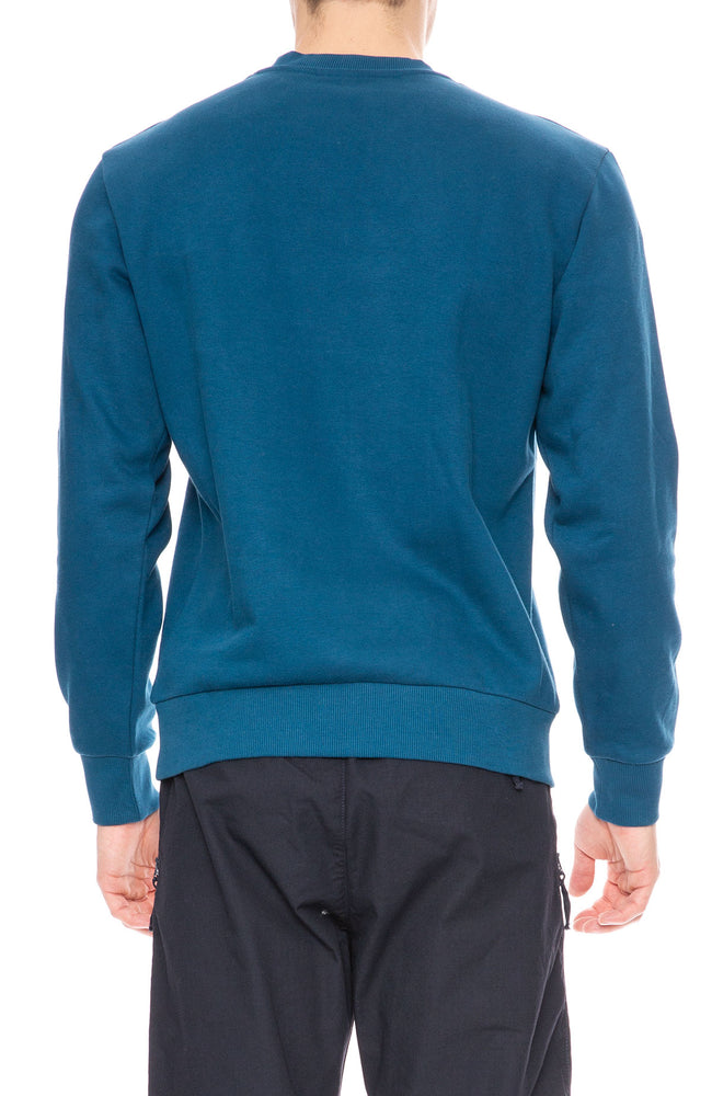 Carhartt WIP Mountain Logo Sweatshirt in Corse Blue at Ron Herman