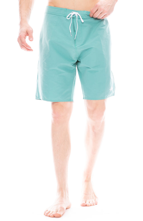 Stussy Mens Stock Swim Trunks in Mint Green