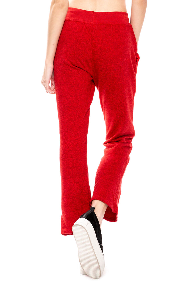 Crop Pintuck Sweatpants