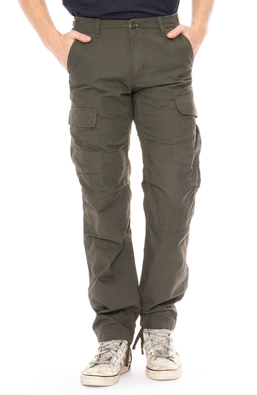 Carhartt WIP Aviation Cargo Pants in Cypress Green at Ron Herman