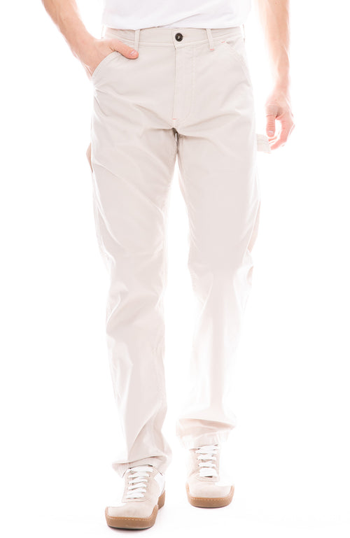 Cotton Canvas Carpenter Trouser Pants