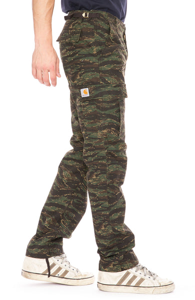 a3bccd642a Carhartt WIP Camo Tiger Aviation Cargo Pants at Ron Herman