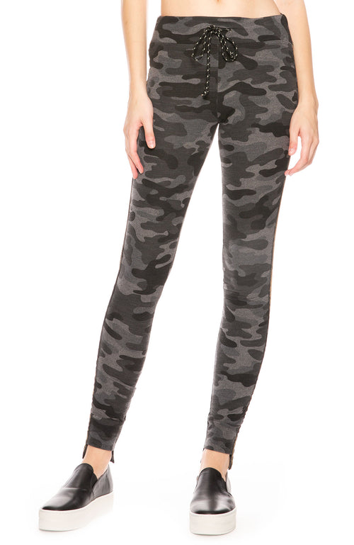 Sundry Step Hem Camo Sweatpants at Ron Herman