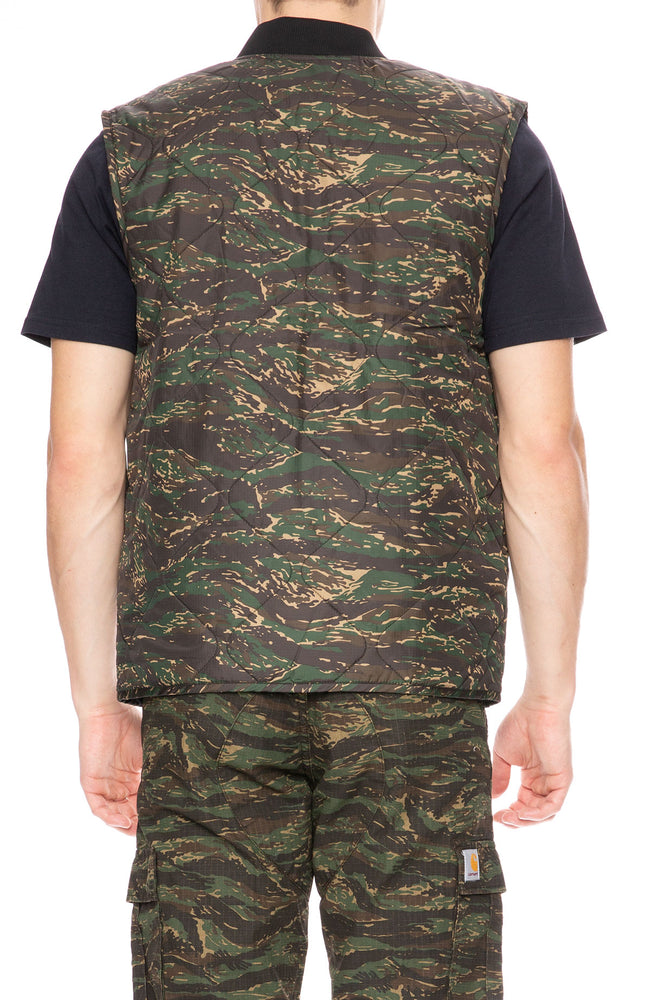 Carhartt WIP Newton Camo Tiger Vest at Ron Herman