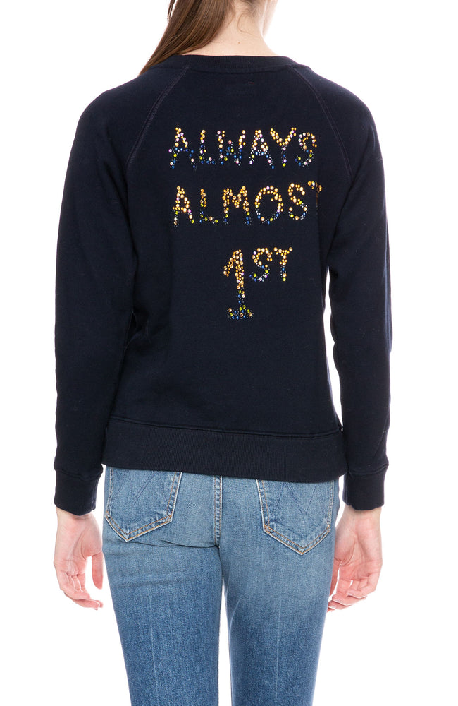 Mother Almost Always First Sweatshirt at Ron Herman