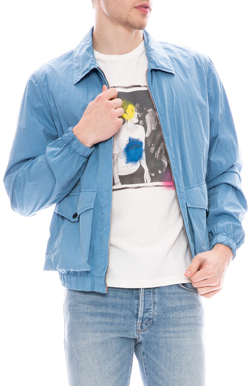 Presidents Kadavu Cotton Nylon Jacket in Sky Blue