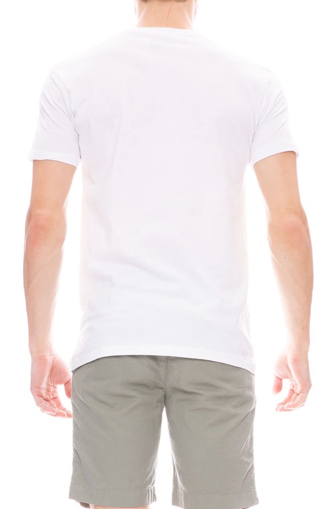 The Quiet Life Middle Of Nowhere Short Sleeve T-Shirt in White