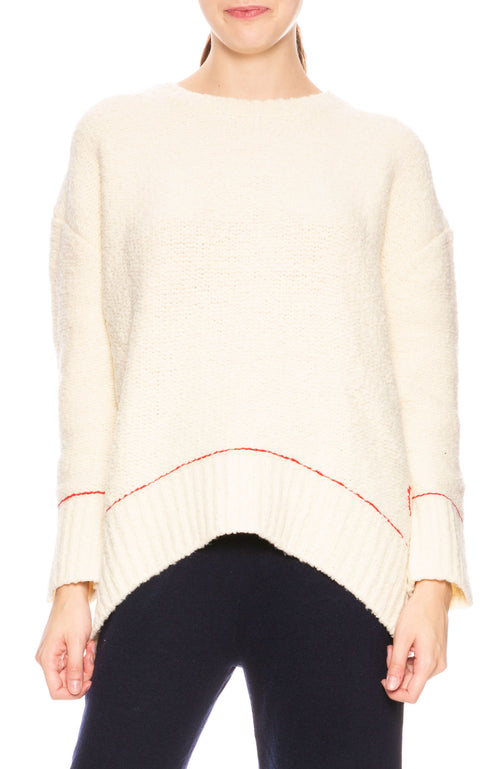 Sundry Embroidered Heart Sweater at Ron Herman