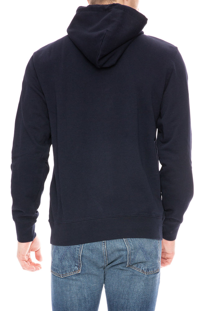 Carhartt WIP Hooded College Sweatshirt in Dark Navy at Ron Herman