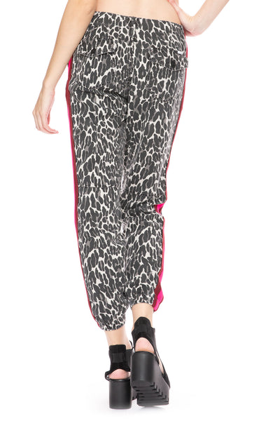 Mother No Zip Misfit Pant in Jungle Eyes at Ron Herman