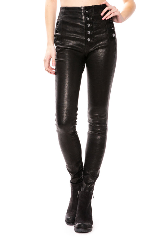 J Brand Natasha Leather Pants at Ron Herman