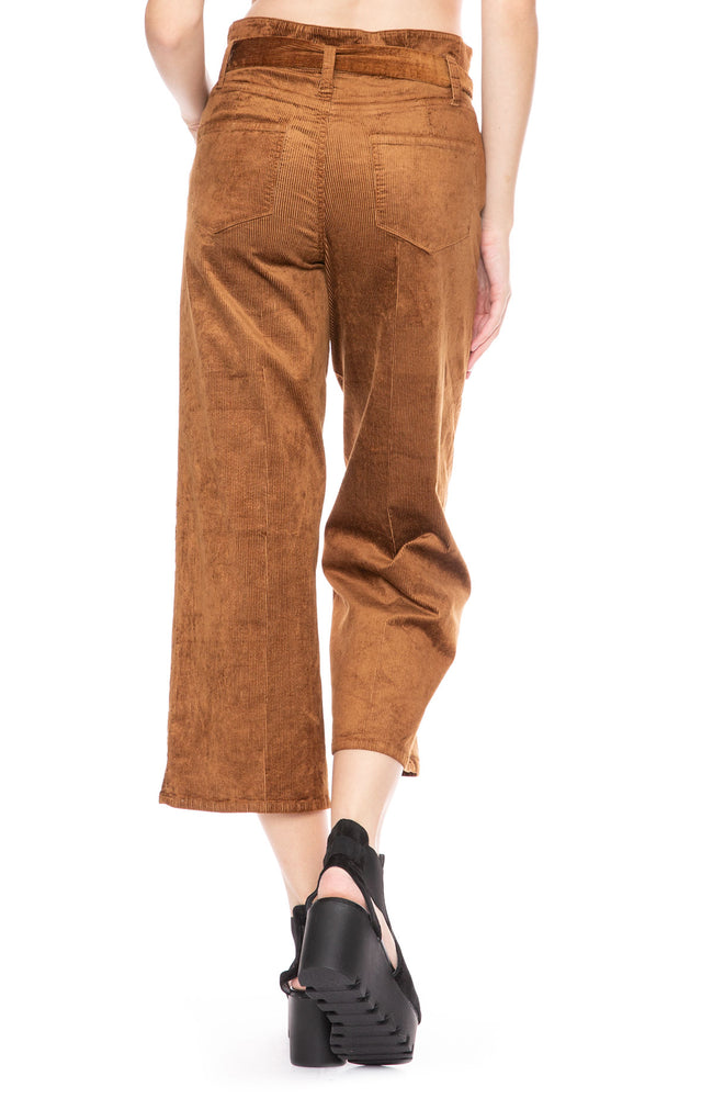 Paige Sutton Cropped Paper Bag Pants at Ron Herman
