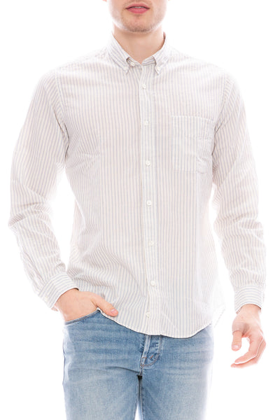 Presidents Chatham Stripe Button Down Shirt