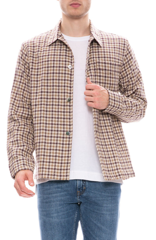 Our Legacy Box Check Shirt Jacket at Ron Herman