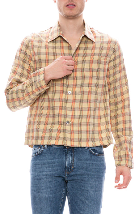 Shrunken Glen Check Shirt