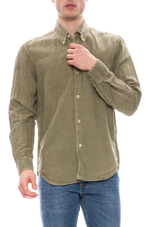 Our Legacy Cotton Linen 50s Shirt at Ron Herman
