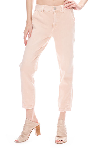 AMO Slouch Trouser Pants in Pale Pink