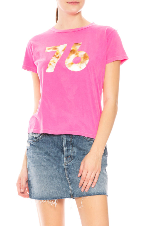 Mother 76' Boxy Goodie Goodie T-Shirt at Ron Herman