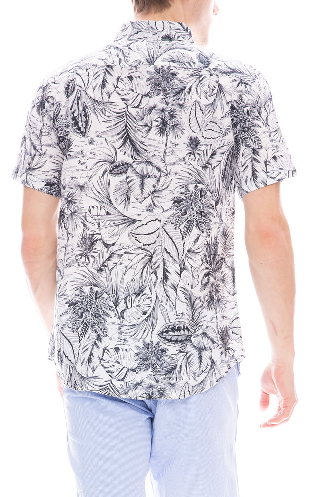 Jack Shirt in Leafy Jungle