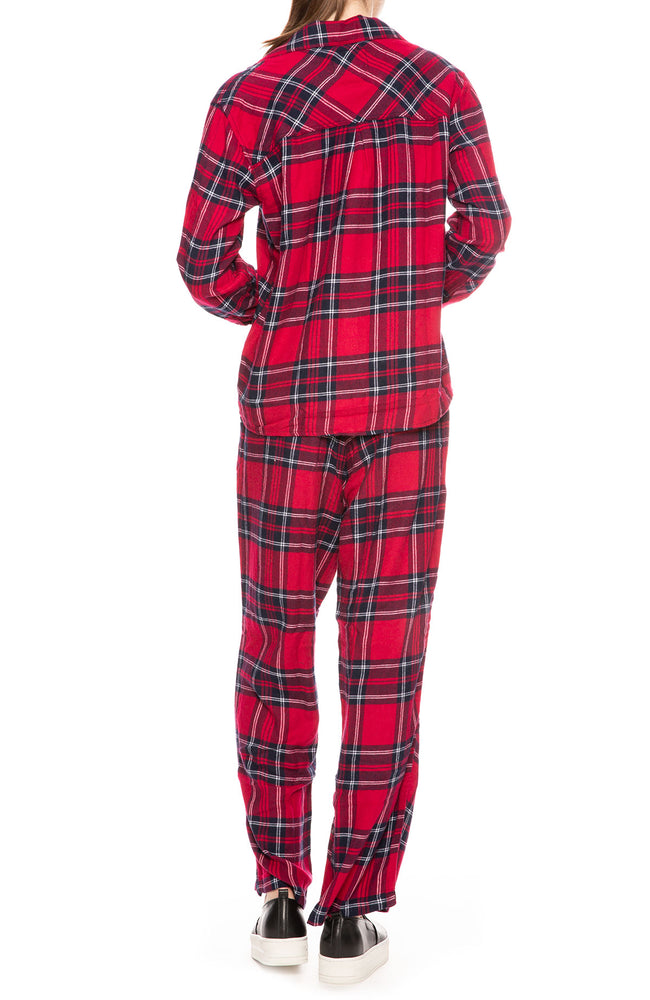 Rails Plaid Pajama Set at Ron Herman