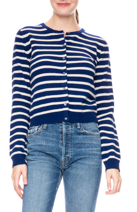 Exclusive Striped Cardigan