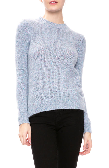 Cashmere Speckle Crew Neck Sweater