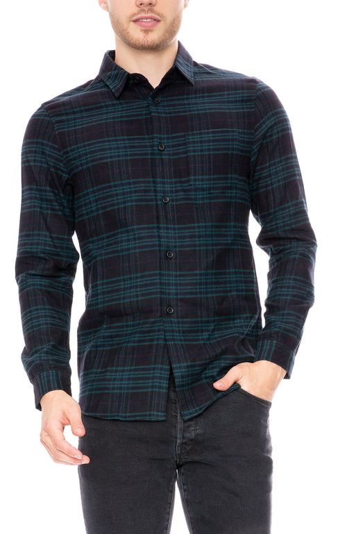 John Elliott Curve Hem Shirt at Ron Herman
