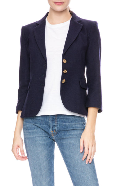 Ron Herman Exclusive Schoolboy Blazer in Navy