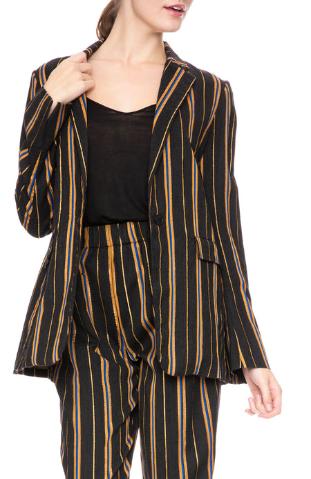 Masai Metallic Stripe Jacket