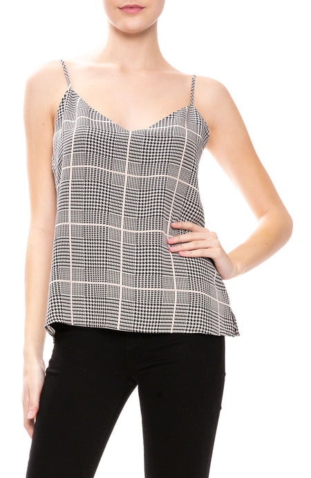 Jane Plaid Cami