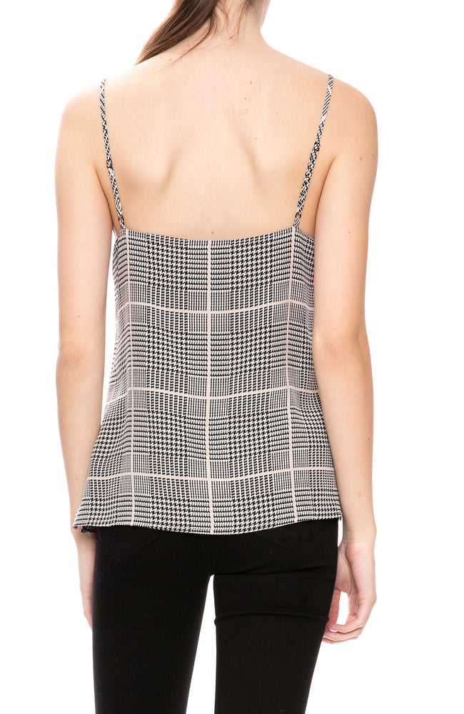 L'Agence Jane Plaid Cami at Ron Herman