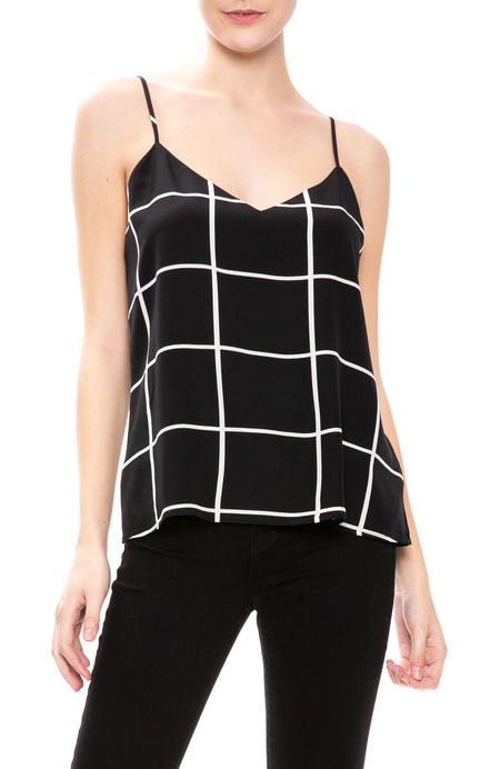 Jane Grid Cami