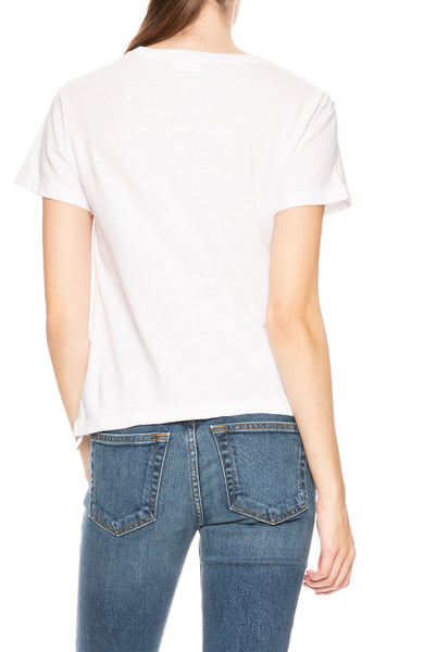 RE/DONE Classic Mouth Tee at Ron Herman