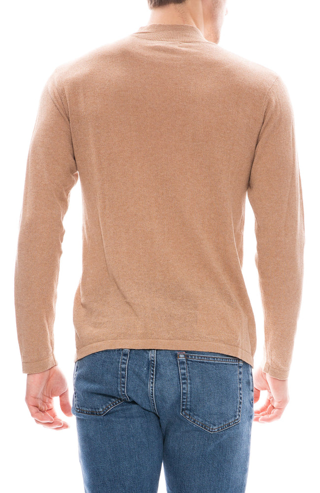 Saturdays NYC Sean Mock Neck Sweater at Ron Herman