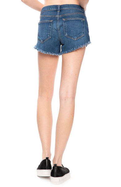 L'Agence Zoe Perfect Fit Shorts In Authentique at Ron Herman